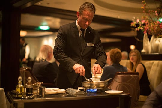 Sophisticated dining on Celebrity Cruises