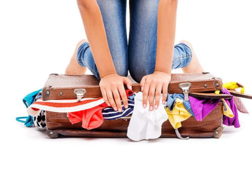 Minimize your luggage weight