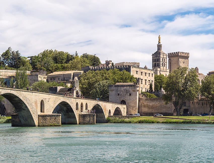Avignon, France & the Palace of the Popes