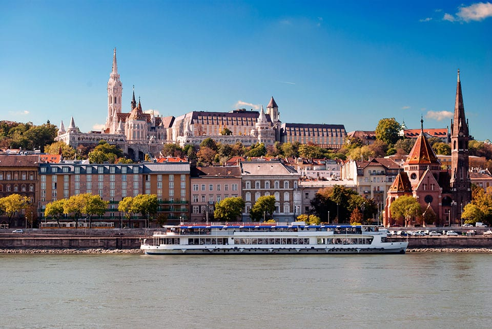 River cruise on the Danube River